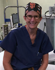 Dr Lesley Anderson, MD